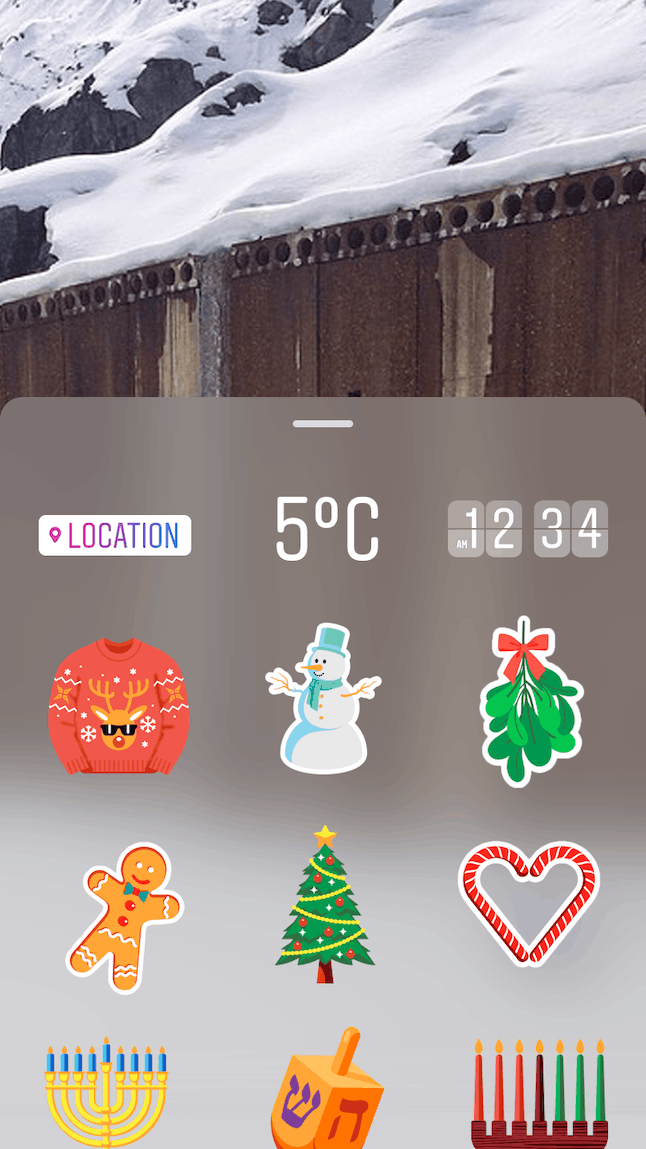 How to add location to instagram stories using geotags in the app choose location from the menu of stickers ccuart Images