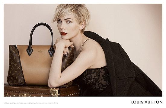 df7c21e85e04 Michelle Williams Snags Louis Vuitton for Her First Major Fashion ...
