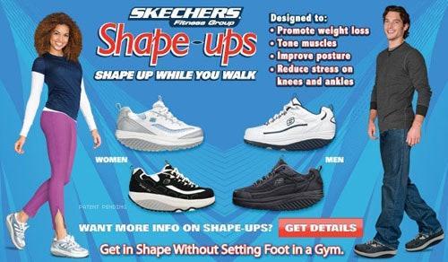 skechers shape ups advertisement