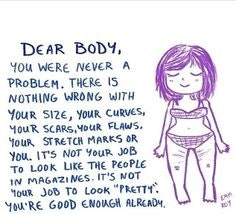 20 Body Image Quotes For Your Next Bad Day Because Your Body Isn T The Problem