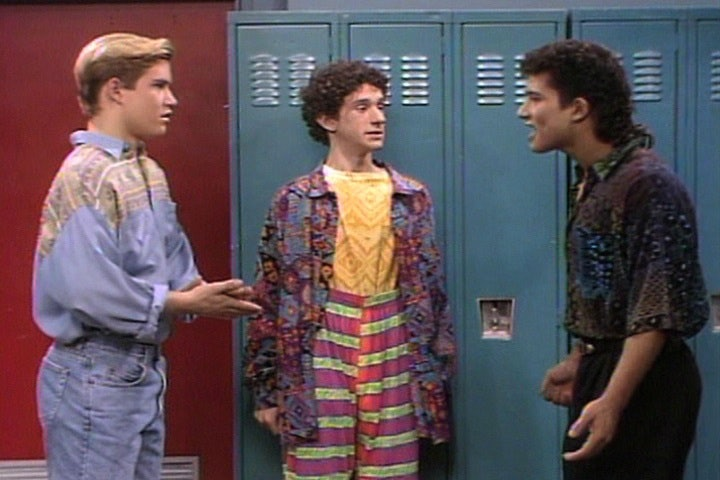 11 Awesome 2016 Trends Saved By The Bell Predicted Back In The Early 90s Photos