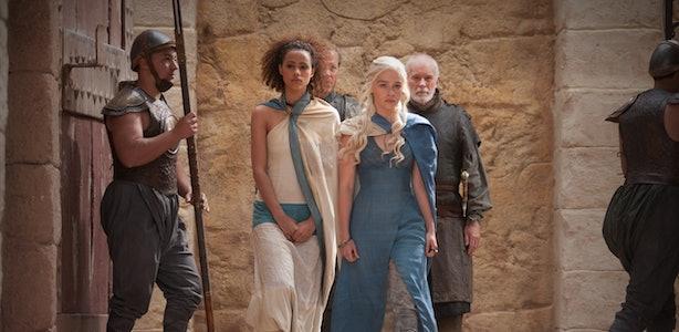 Daenerys Targaryen's Fashion Evolution Through 'Game Of ...  Daenerys Targar...