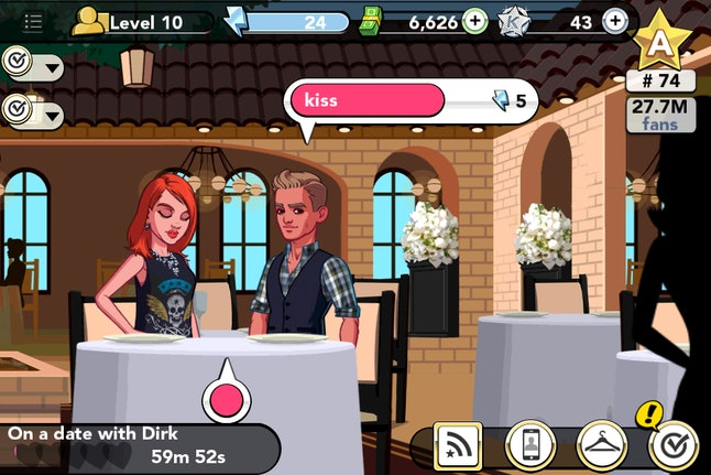 5 Kim Kardashian iPhone Game Tips for Dating Without Going Broke