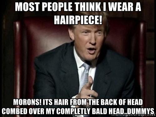 Donald Trump Funny Hair Memes : Donald trump hair memes so funny you ll actually be grateful