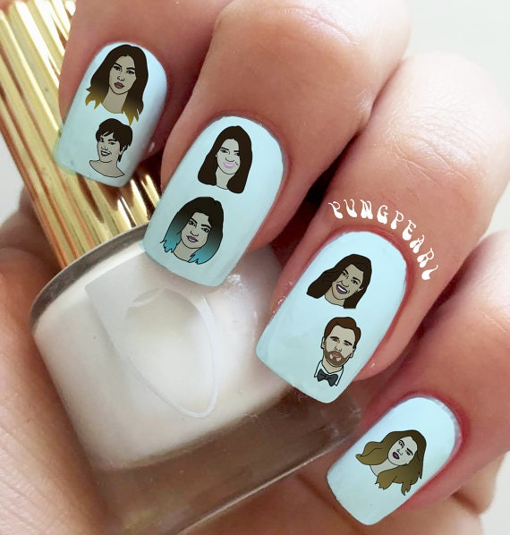 Get A Kimoji Manicure Just Like Kim Kardashian With These Decals ...
