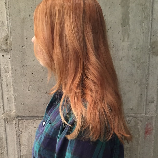How To Go From Red To Blonde Without Destroying Your Hair According