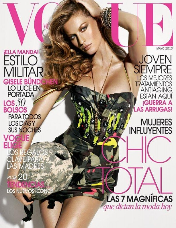 Gisele Bundchen Covers 'Vogue' Brazil For What Seems Like ...