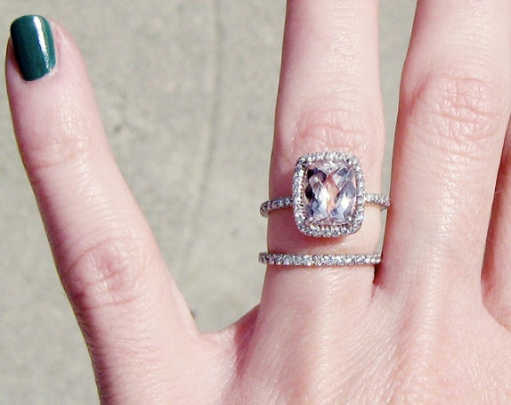 You Will Be Wearing Your Ring Set Everyday.