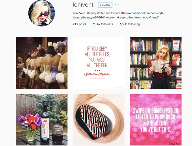 a lot of people in the industry have their own brand that is reflected on their social accounts meunter says a good example of this is cosmo writer loni - Using Social Media For Branding Yourself Promoting Yourself And Finding A Great Job