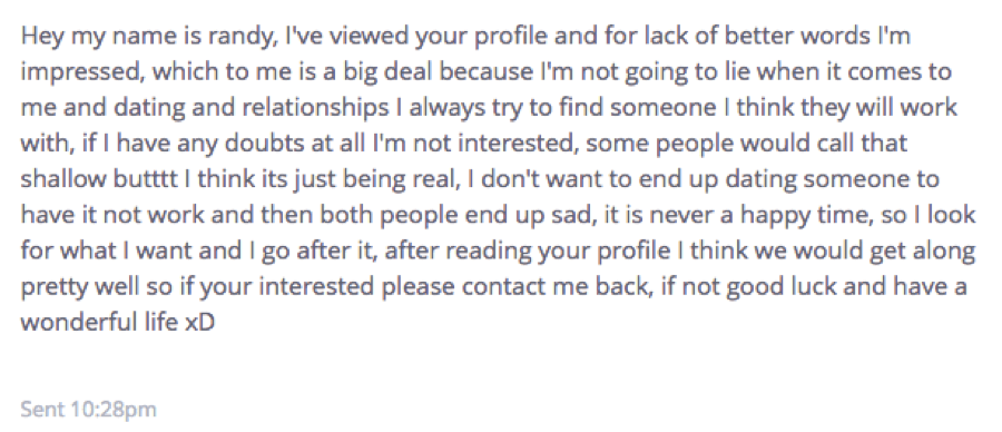 Online hookup messages that get responses