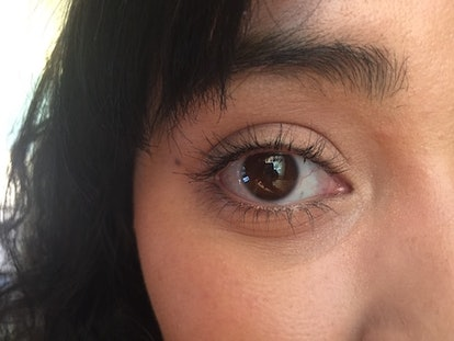 This is how curling lashes in parts to hold eyelash curls better worked.