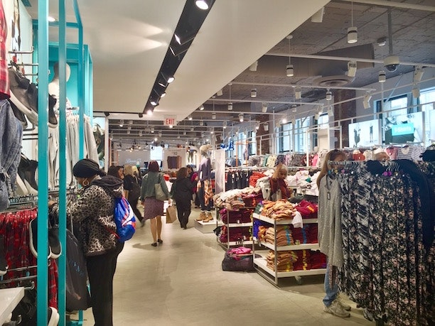 Boston Clothing Store Frugal