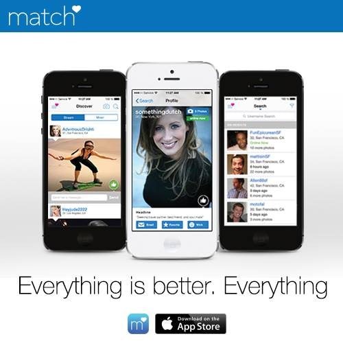 Match is like the network TV of dating apps: it's really big (5 million  downloads on Google Play alone), really well-funded, and madly swarming  with ...