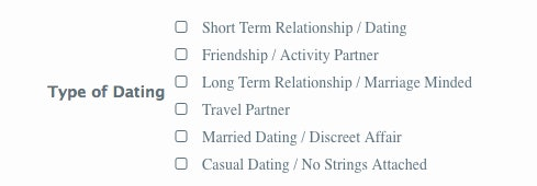 how to know if we are dating