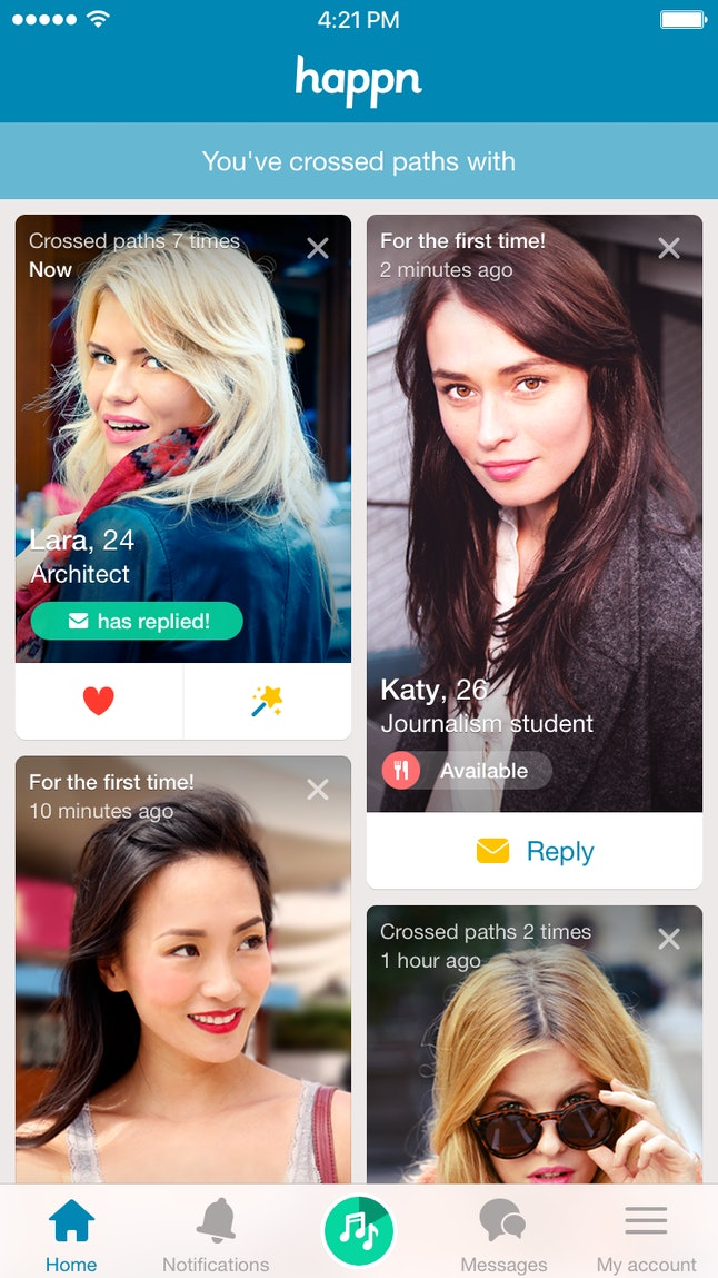 Real life dating app