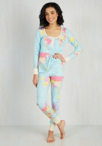 The World Map Pajamas