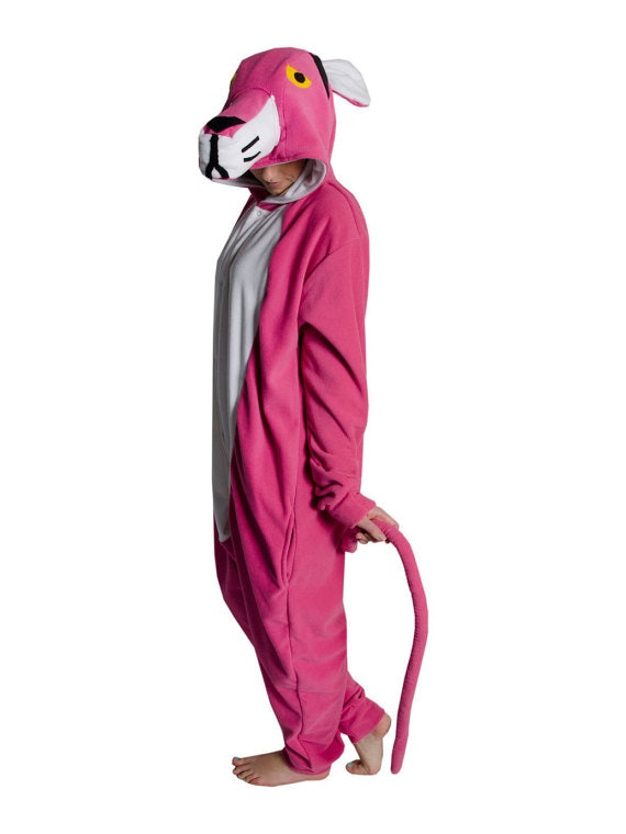 Adult Animal Onesie (Kigurumi - Cosplay) - Pink Panther Inspired 2a9592c21