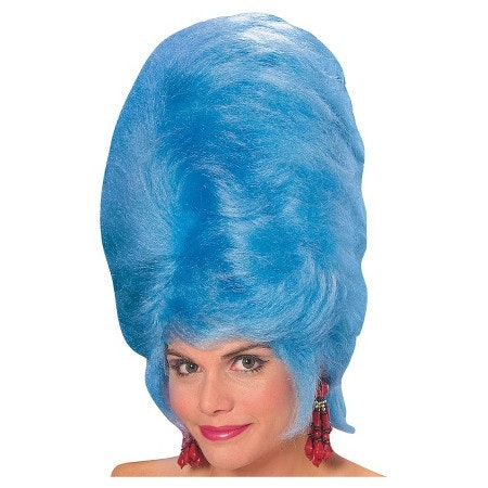 11 Of The Coolest Blue Halloween Wigs To Give You Some Costume Ideas For 2016 Photos