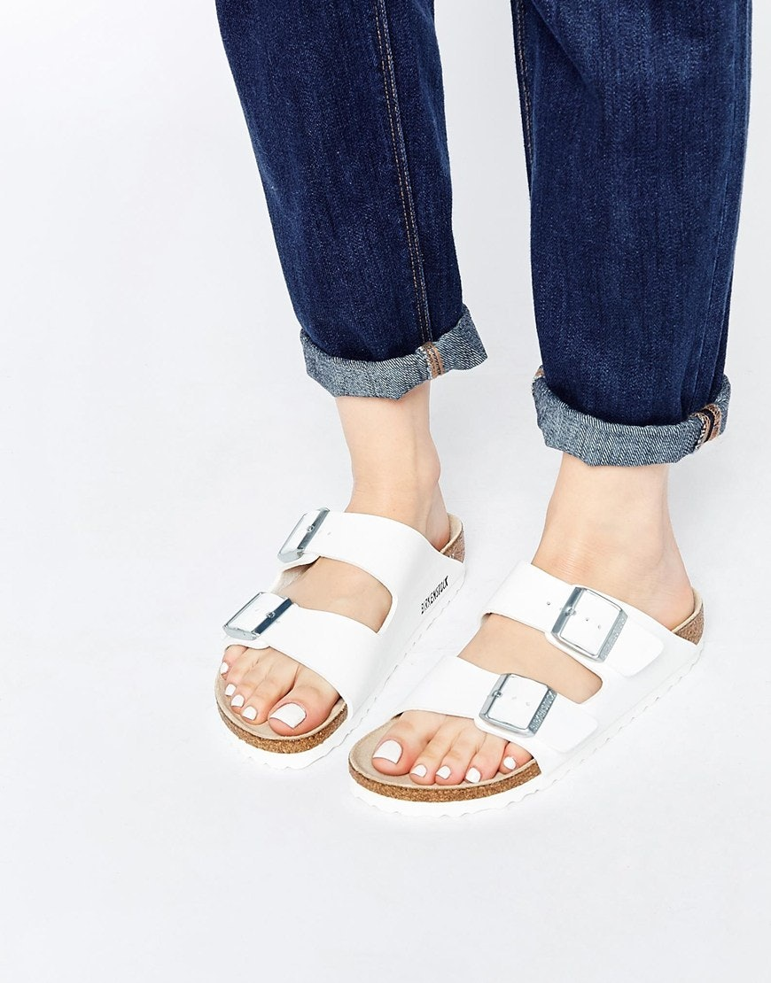 metallic sandals - White Birkenstock oik5wqEcI