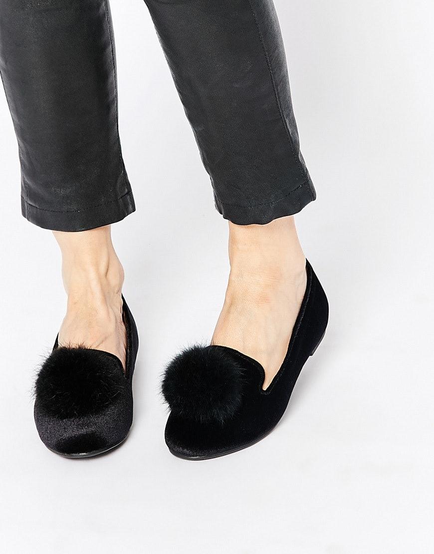 pom pom shoes