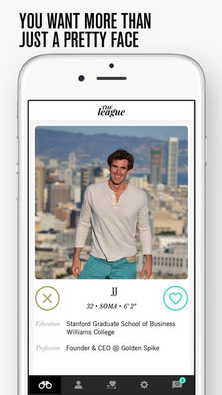 Dating app for business professionals