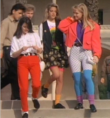 21 style lessons from 39 beverly hills 90210 39 that still for 90er party outfit