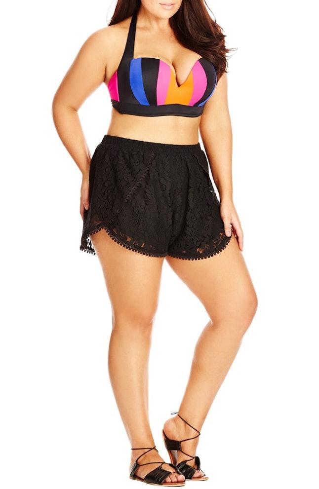 How to Wear Asymmetrical Shorts