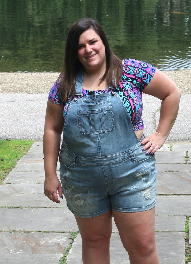 9 Ways To Wear Plus-Size Shorts This Summer Because Your ...