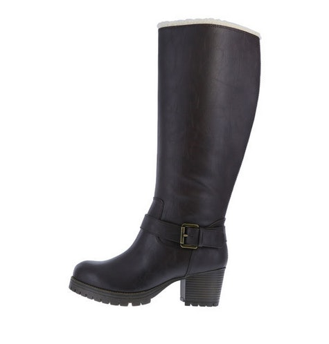 wide calf boots payless