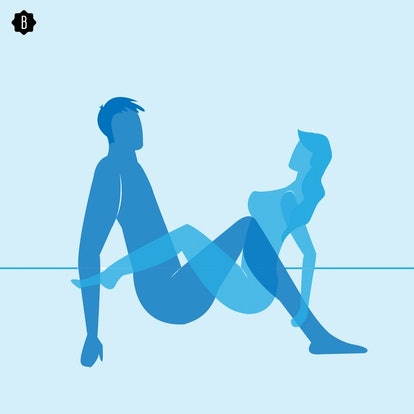 The crab walk is an advanced sex position that's also a blast from the past.