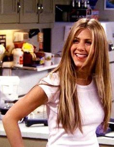 Jennifer Aniston Side Bangs Friends