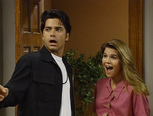 Maybe The Shock Of Having Twins Was All Adventure Uncle Jesse Could Take For One Year Because In Season 5 His Hair Is Just Kind There Hanging Out