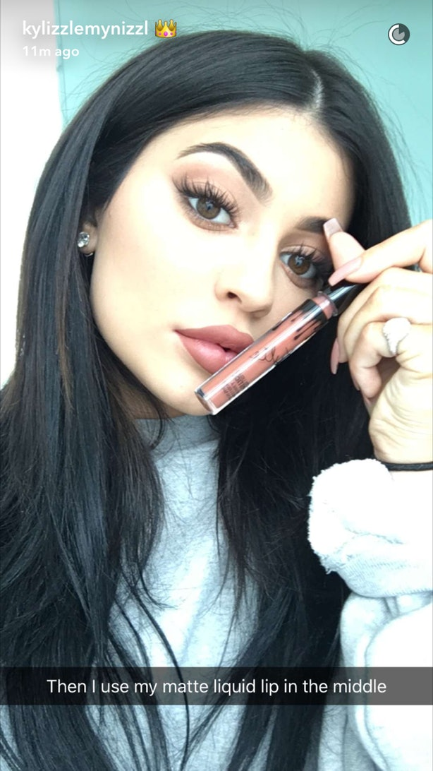 how to do the Kylie Jenner lips