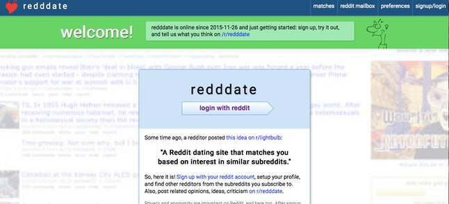 History dating sites