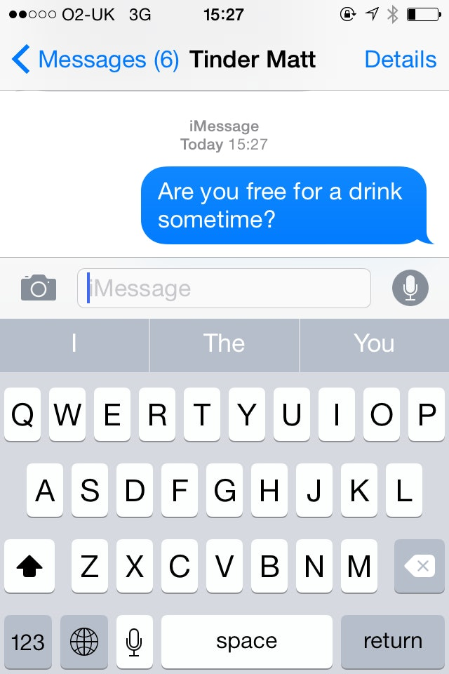 How to ask someone out over text