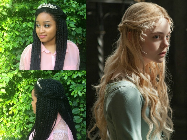 I Recreated Disney Princess Hairstyles With Senegalese Twists