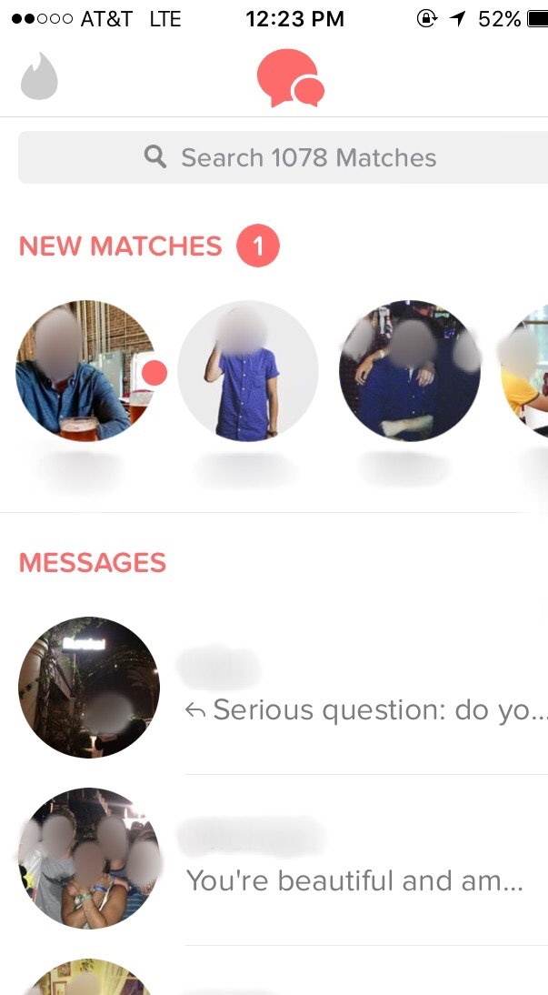 how many matches tinder