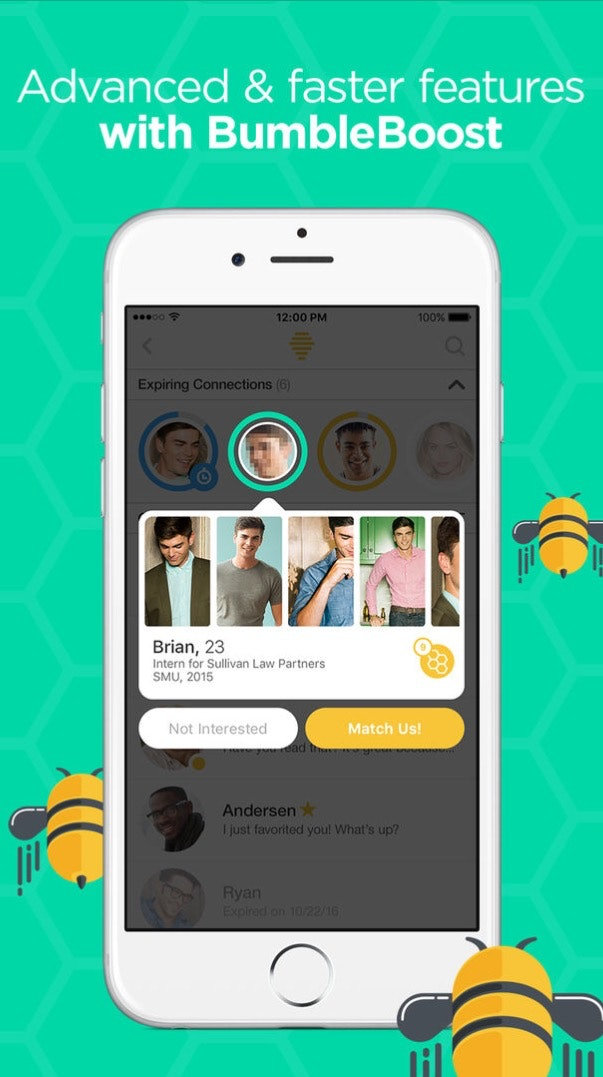 was macht bumble boost?