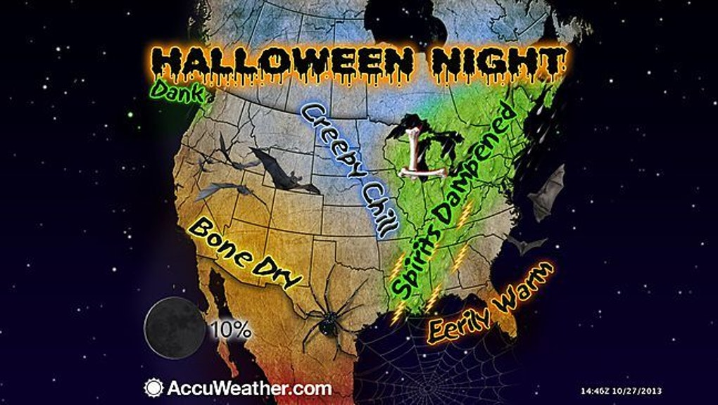 Halloween Weather 2013: Forecast For Trick-or-Treating Tonight