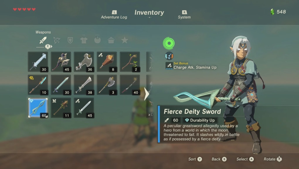 Zelda: Breath of the Wild' Fierce Deity Link: How to get the armor