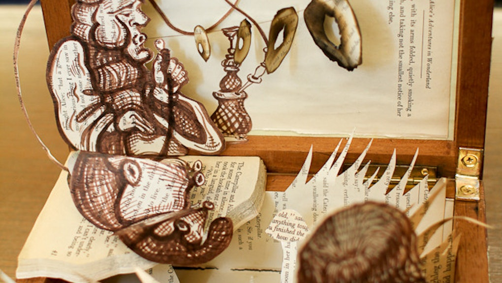 10 Beautiful Book Dioramas Putting Your Fourth Grade Project to Shame