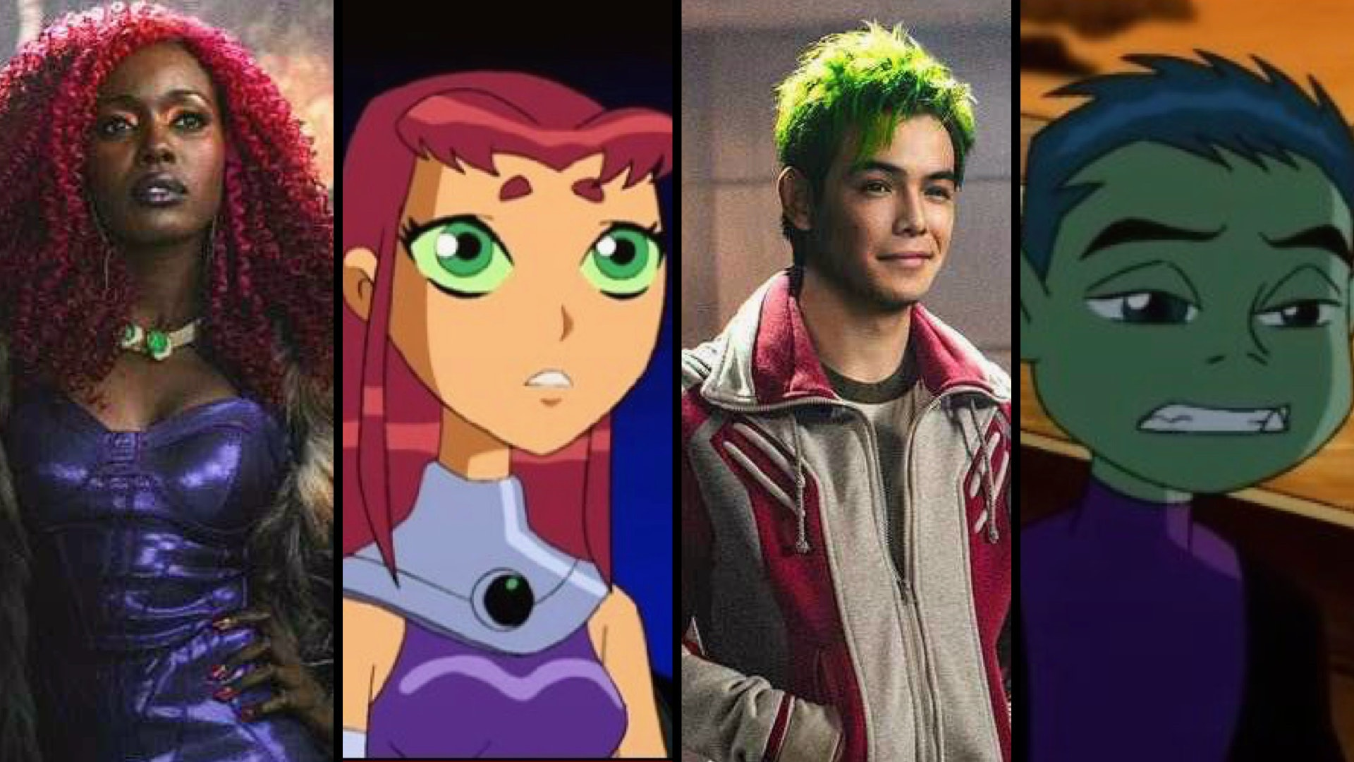 On Titans People Of Color Play Orange And Green Characters Of