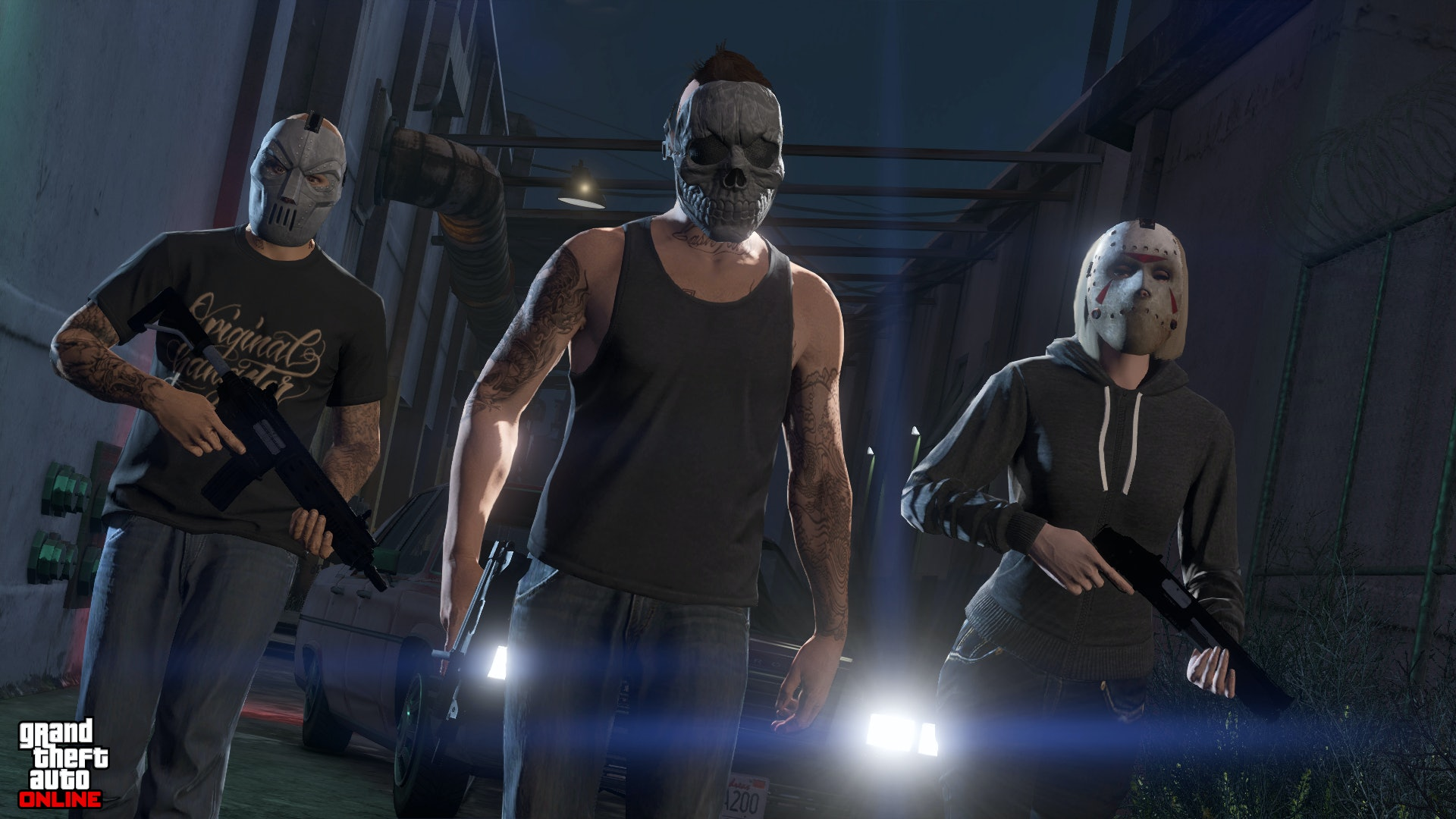how to get multiplayer on gta 5 xbox one