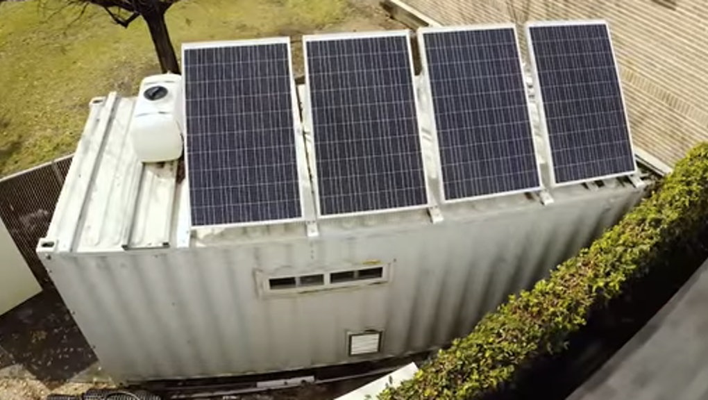 This Solar-Powered Shipping Container Can Sterilize Medical