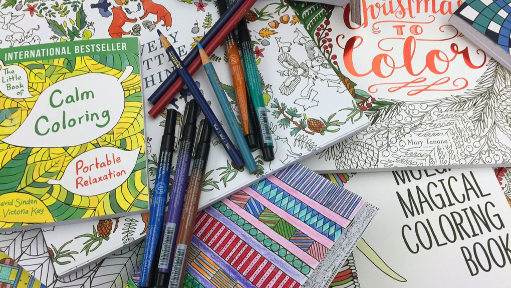 The Science Behind Adult Coloring Books Explains Why They\'re So ...