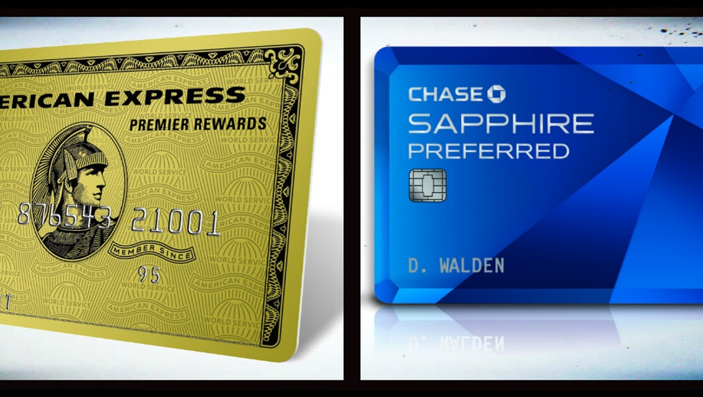 Chase Sapphire Preferred vs  American Express Premier