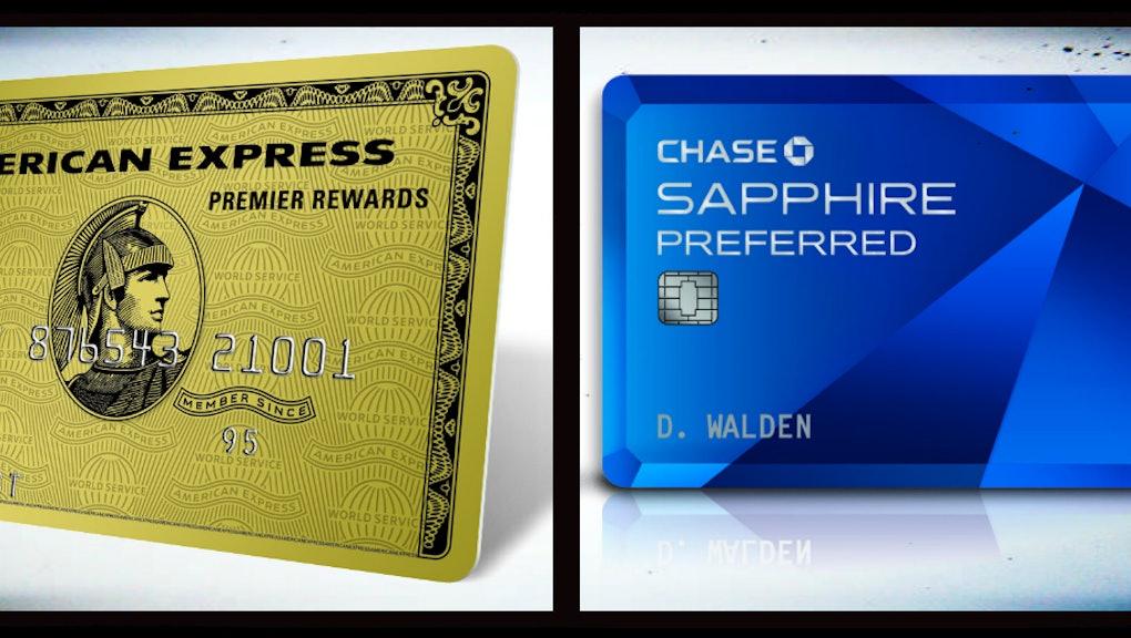 Chase Sapphire Preferred Vs American Express Premier Rewards Gold