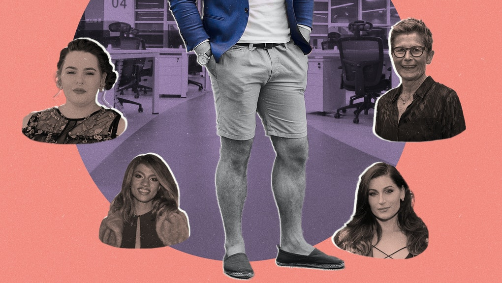 Is it ever OK for men to wear shorts in the office? We asked 25 very