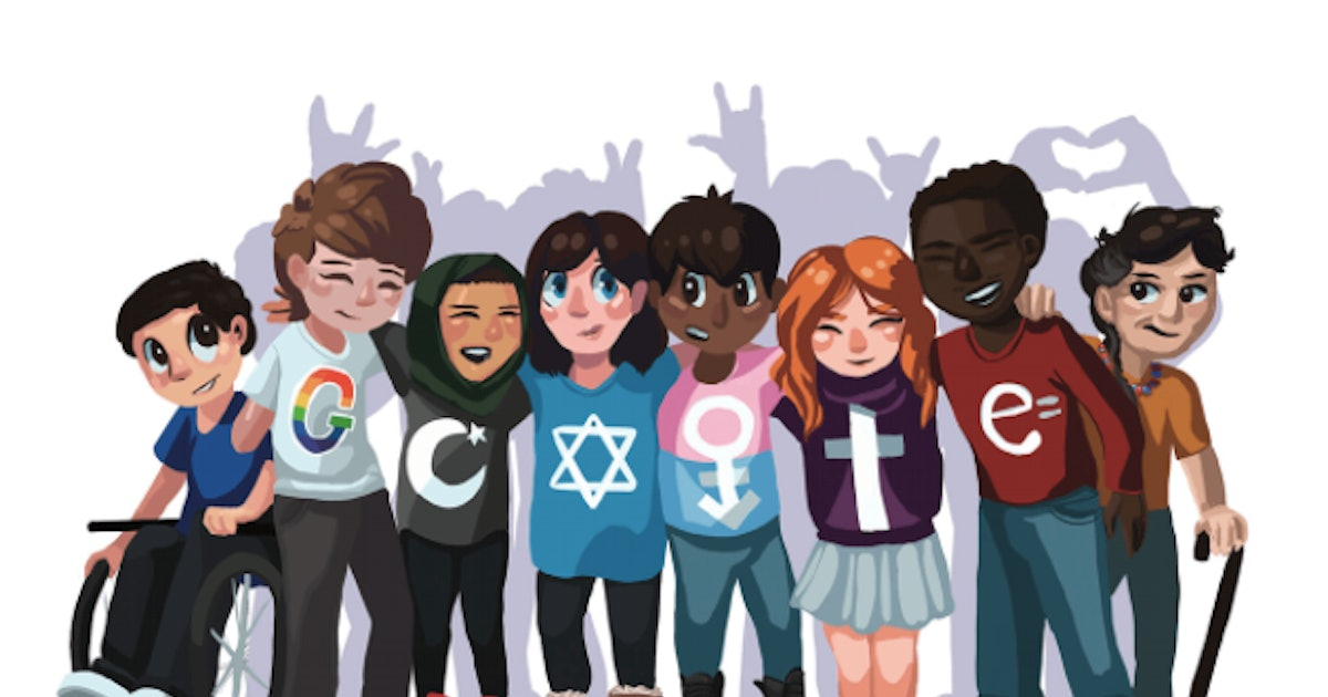 This powerful Google doodle was designed by a high school student