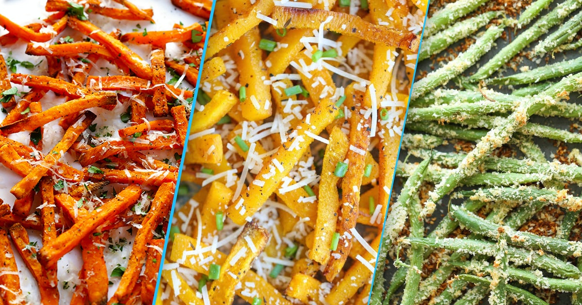 Healthier fries: Baked and roasted veggie recipes that'll satisfy your french fry cravings
